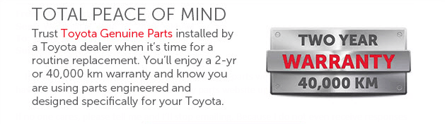 Toyota Parts and Accessories | Mayfield Toyota Edmonton Toyota Parts